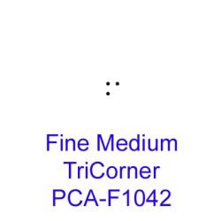 (PCA-F1042)Fine Medium TriCorner