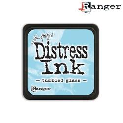 (TDP40248)Distress mini ink tumbled glass