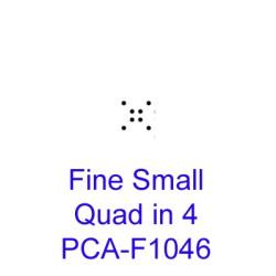 (PCA-F1046)Fine Small Quad in 4