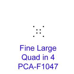 (PCA-F1047)Fine Large Quad in 4