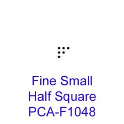 (PCA-F1048)Fine Small Half Square