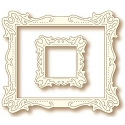 (SD0037)Wild Rose Studio`s Specialty die - Antique Art Frames