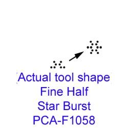 (PCA-F1058)Fine Half StarBurst