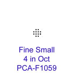 (PCA-F1059)Fine Small 4 in Oct