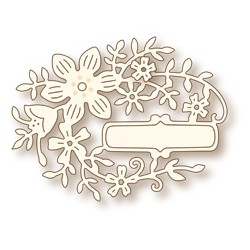 (SD0046)Wild Rose Studio`s Specialty die - Oval Flower