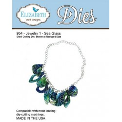 (SKU954)Elizabeth Craft Design Die Jewelry 1 - Sea Glass
