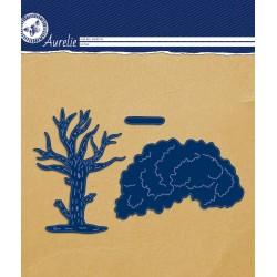 (AUCD1024)Aurelie Cat Tree Craft Die