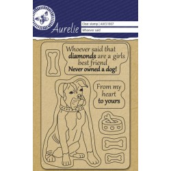 (AUCS1007)Aurelie Whoever Said Clear Stamps