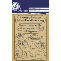 (AUCS1006)Aurelie A House Without Clear Stamps