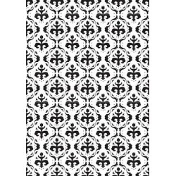 (VINF001)Nellie's Choice Embossing folder backgrounds baroc
