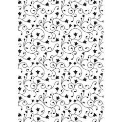 (VINF004)Nellie's Choice Embossing folder backgrounds swirl