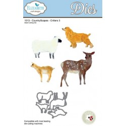 (SKU1013)Elizabeth Craft Design Die CountryScapes - Critters 3
