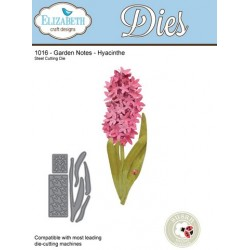 (SKU1016)Elizabeth Craft Design Die Garden Notes - Hyacinthe
