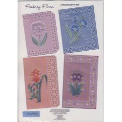 (PCA-TCB5300WC)Fantasy Flora