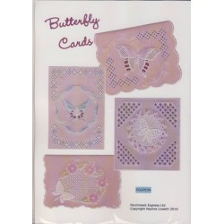 (PCA-P5154)Butterfly Cards