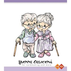 (CDST10012)Stamps - Yvonne Creations Grandparents