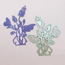 ( 553E)Tonic Studios - Butterfly 3 Rosea Die
