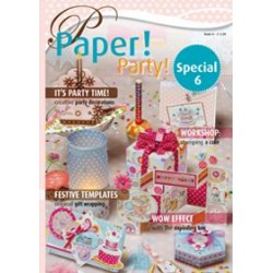 Pergamano Papier spécial no.6 Party UK/DE (81061)