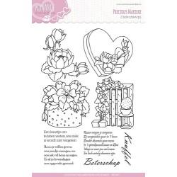 (PMCS10003)Precious Marieke - Romance - Clear stamp