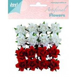 (6370/0067)Artificial Flowers 16p/2c