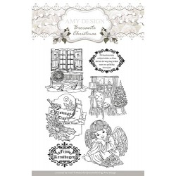 (ADCS10002)Clearstamp - Amy Design - Brocante Christmas