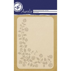 (AUEF1006)Aurelie Flower Festival Background Embossing Folder
