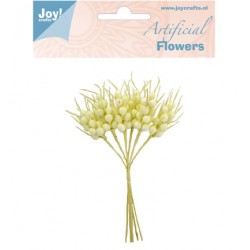 (6370/0072)Artificial Flowers creme