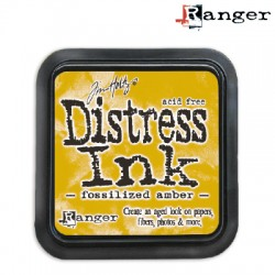 (TIM43225)Distress Ink Pad fossilized amber