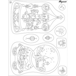 Pergamano Clear stamp Carrousel (41916)