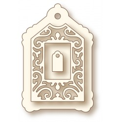 (SD0058)Wild Rose Studio`s Specialty die - Gilded Tag