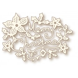 (SD0062)Wild Rose Studio`s Specialty die - Christmas Greeting