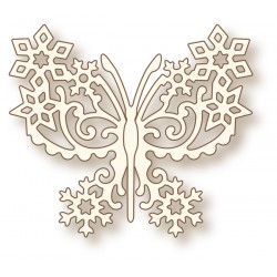 (SD0051)Wild Rose Studio`s Specialty die - Frosted Butterfly