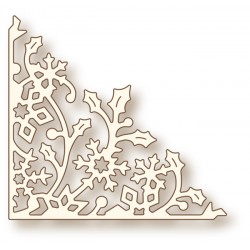 (SD0053)Wild Rose Studio`s Specialty die - Holly Vine Corner