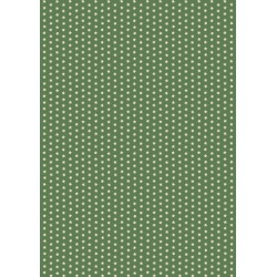 Pergamano Parchment paper stars olive green 5 s A4(61616)