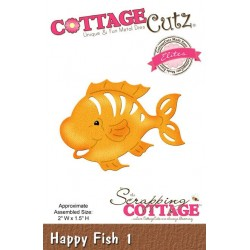 (CCE-272)Scrapping Cottage Happy Fish 1 (Elites)