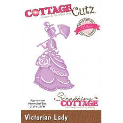 (CCE-256)Scrapping Cottage Victorian Lady (Elites)