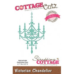 (CCE-250)Scrapping Cottage Victorian Chandelier (Elites)