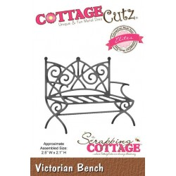 (CCE-246)Scrapping Cottage Victorian Bench (Elites)