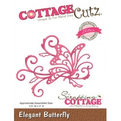 (CCE-235)Scrapping Cottage Elegant Butterfly (Elites)