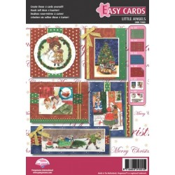 Pergamano Easy cards Victorian Christmas little angels(71003)