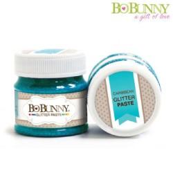 (12740916)Bo Bunny glitter paste caribbean