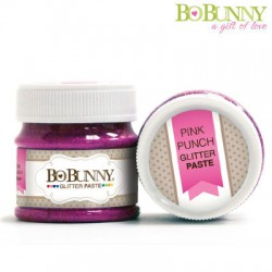 (12740918)Bo Bunny glitter paste pink punch