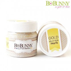 (1284591)Bo Bunny glitter paste gold