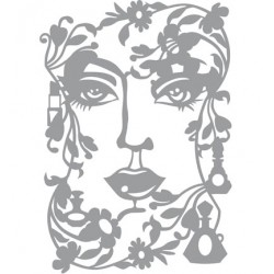 (470.802.039)Pronty Designs, 148 X 210 mm - Mask Stencil Face La