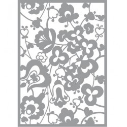 (470.802.038)Pronty Designs, 148 X 210 mm - Mask Stencil Flowers