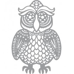 (470.802.037)Pronty Designs, 148 X 210 mm - Mask Stencil Owl