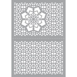 (470.802.028)Pronty Designs, 148 X 210 mm - Mask Stencil Snowsta