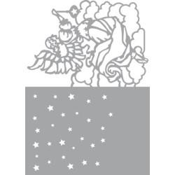 (470.802.027)Pronty Designs, 148 X 210 mm - Mask Stencil Angel i