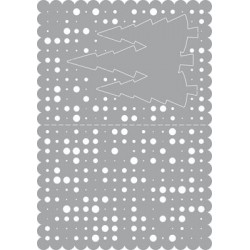 (470.802.026)Pronty Designs, 148 X 210 mm - Mask Stencil Chritma