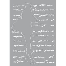 (470.802.025)Pronty Designs, 148 X 210 mm - Mask Stencil Shoppin